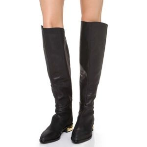 Boutique 9 Alberina Over the Knee Leather Boots
